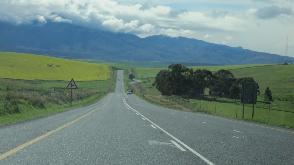 The picturesque Garden route
