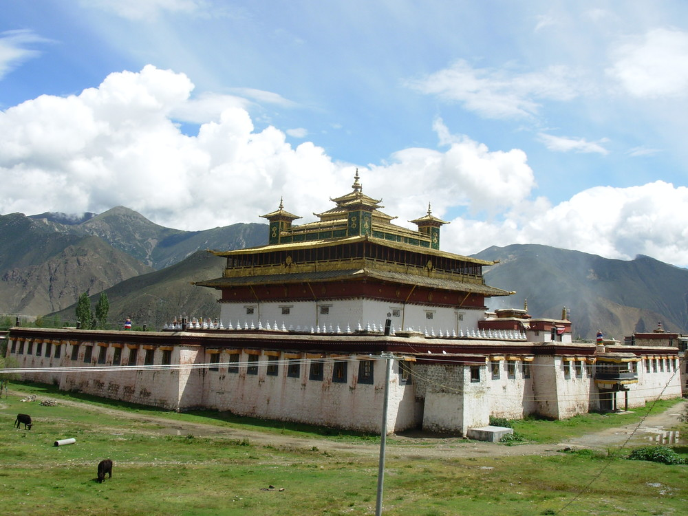 Same Monastery- the first Buddhist Monastery in Tibet