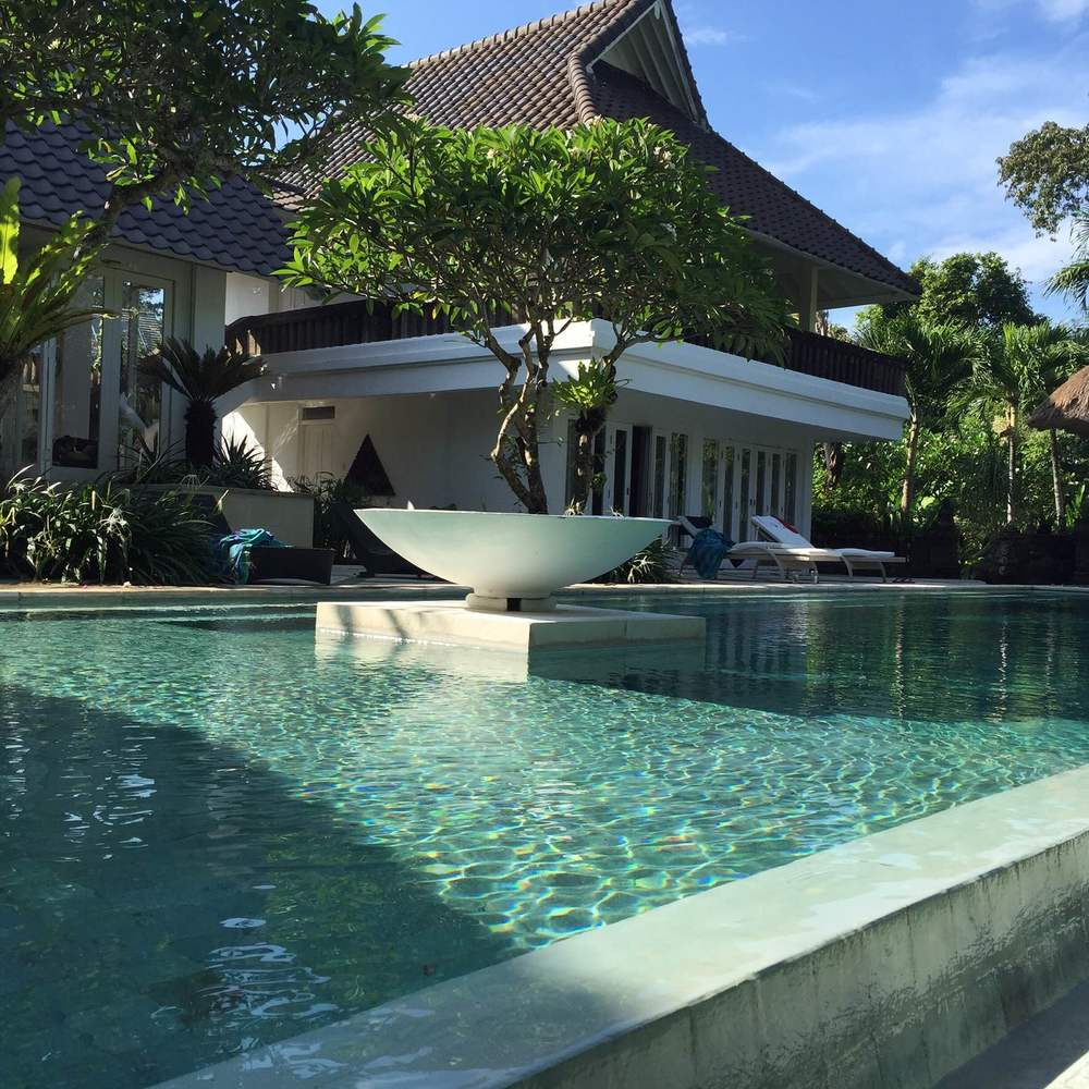 Our Villa at Seminyak....check out that gorgeous pool!