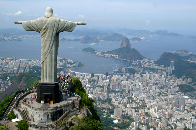 Corcovado Mountain and Christ Redeemer