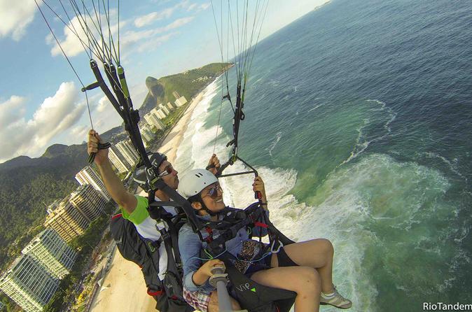 Paragliding at Rio