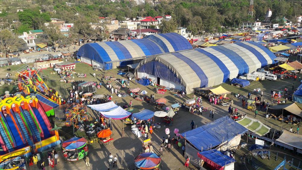 Holi carnival at Sujanpur Tira
