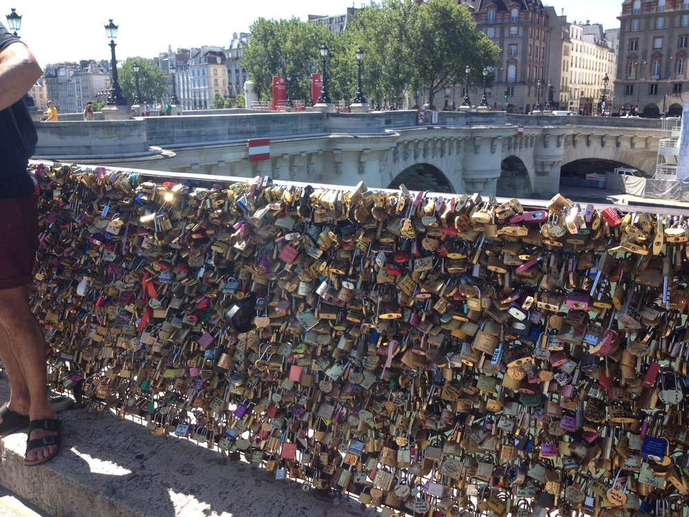 Lovelock Bridge Paris