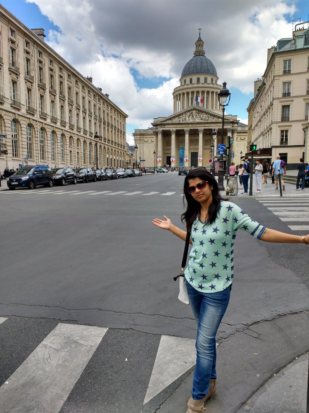 Pantheon Paris....Getting my groove back!