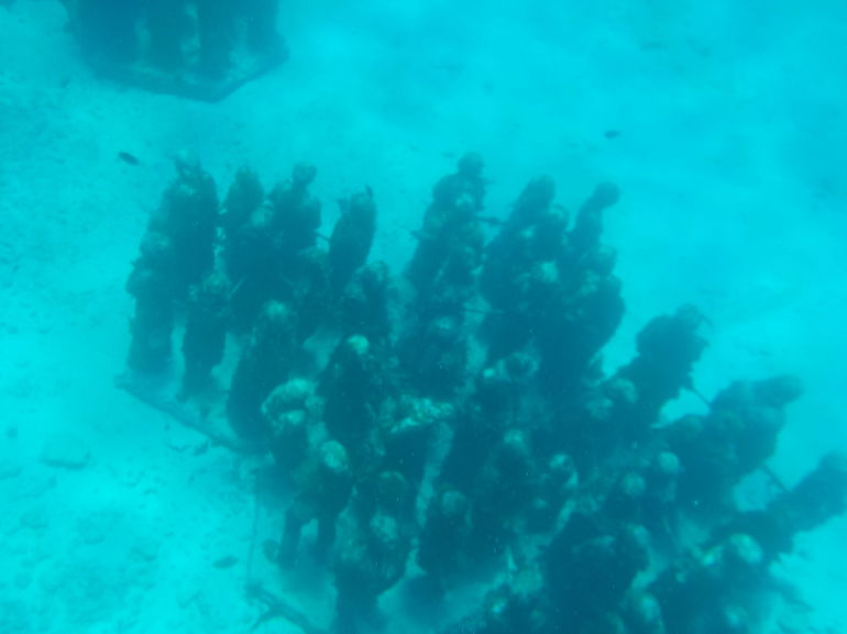 Underwater Museum, Cancun
