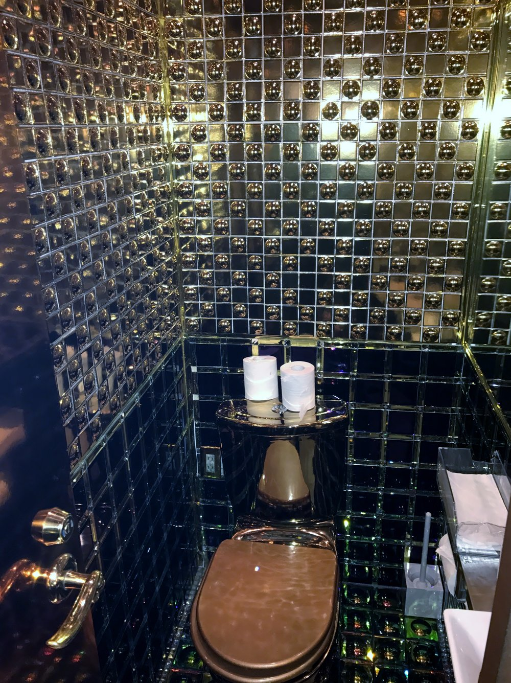 The Washroom at Robot Restaurant , Tokyo