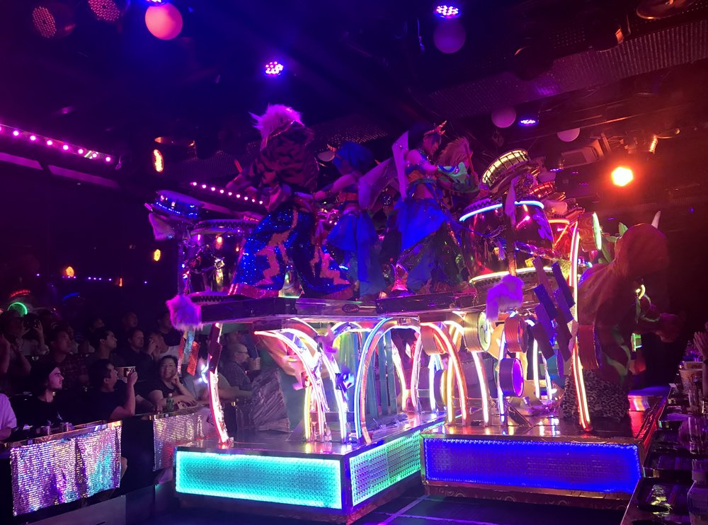 Second Performance at Robot Restaurant