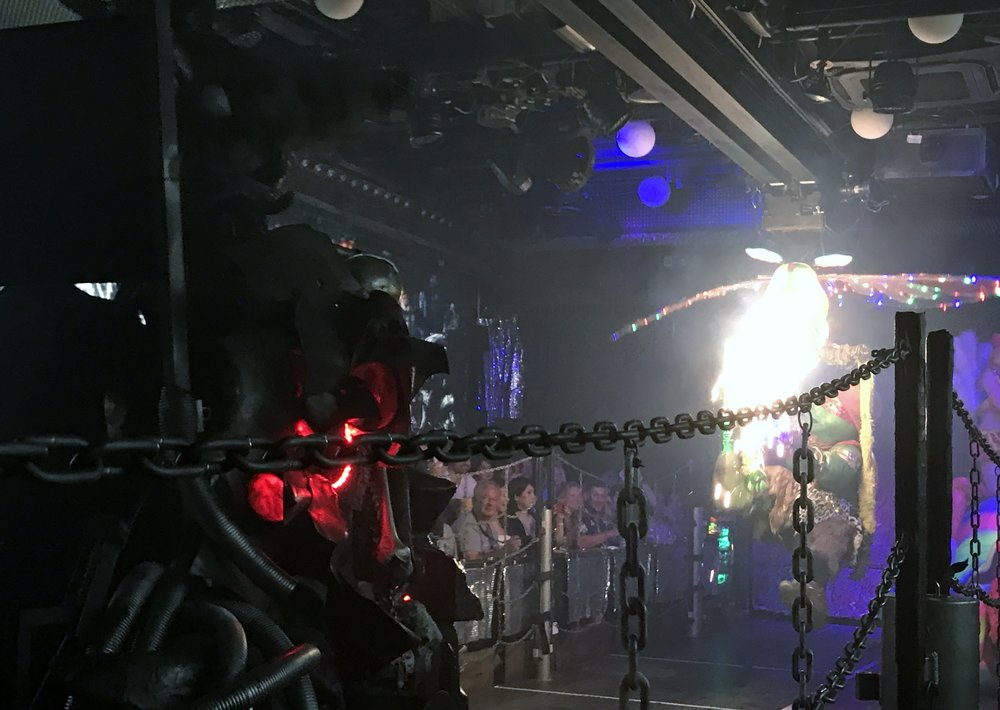 The Evil Robot Empire , Robot restaurant, Tokyo