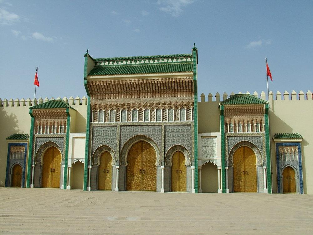 Court Fez Morocco