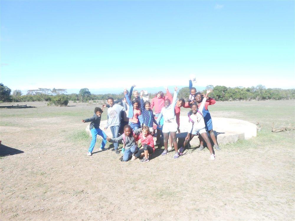 At OI Pejeta Kenya
