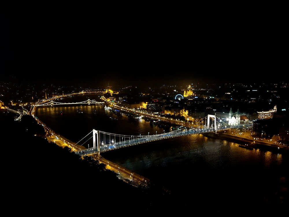 Budapest city lit in the night- View from Citadel (1).jpg