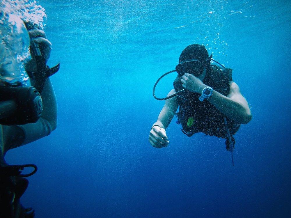 Snorkeling at Amdee Island