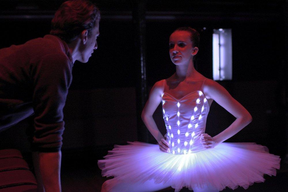 Dancer: Melissa Chapski  Photo by:Laurent Liotardo