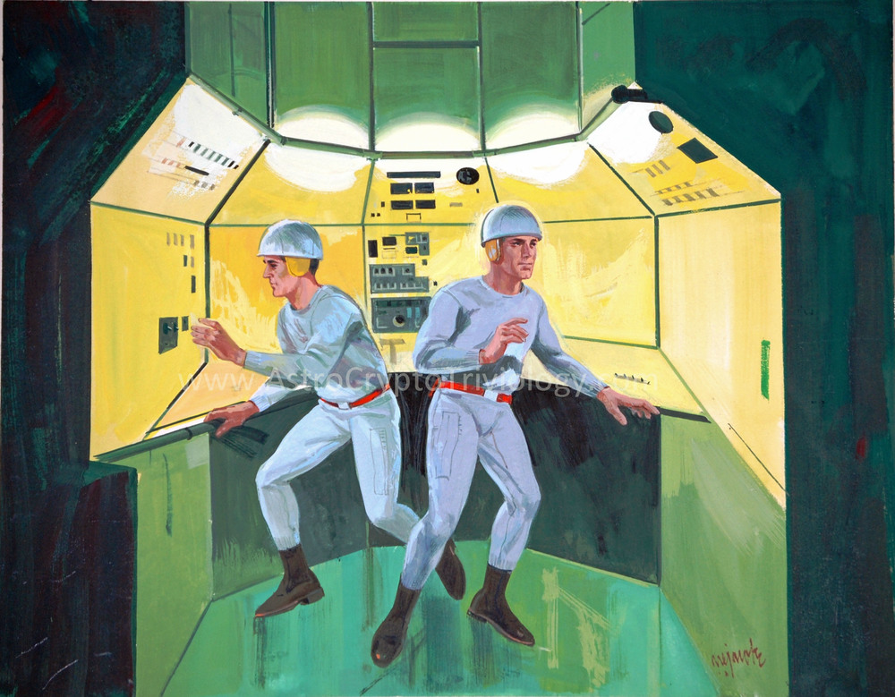 "18A ""Both Pilots Floating in Lab"""