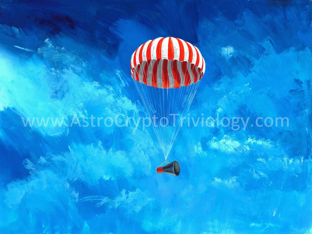 """47A """"Gemini-B Under Canopy"""""""