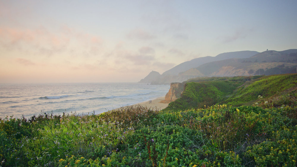 Montara State Beach, California