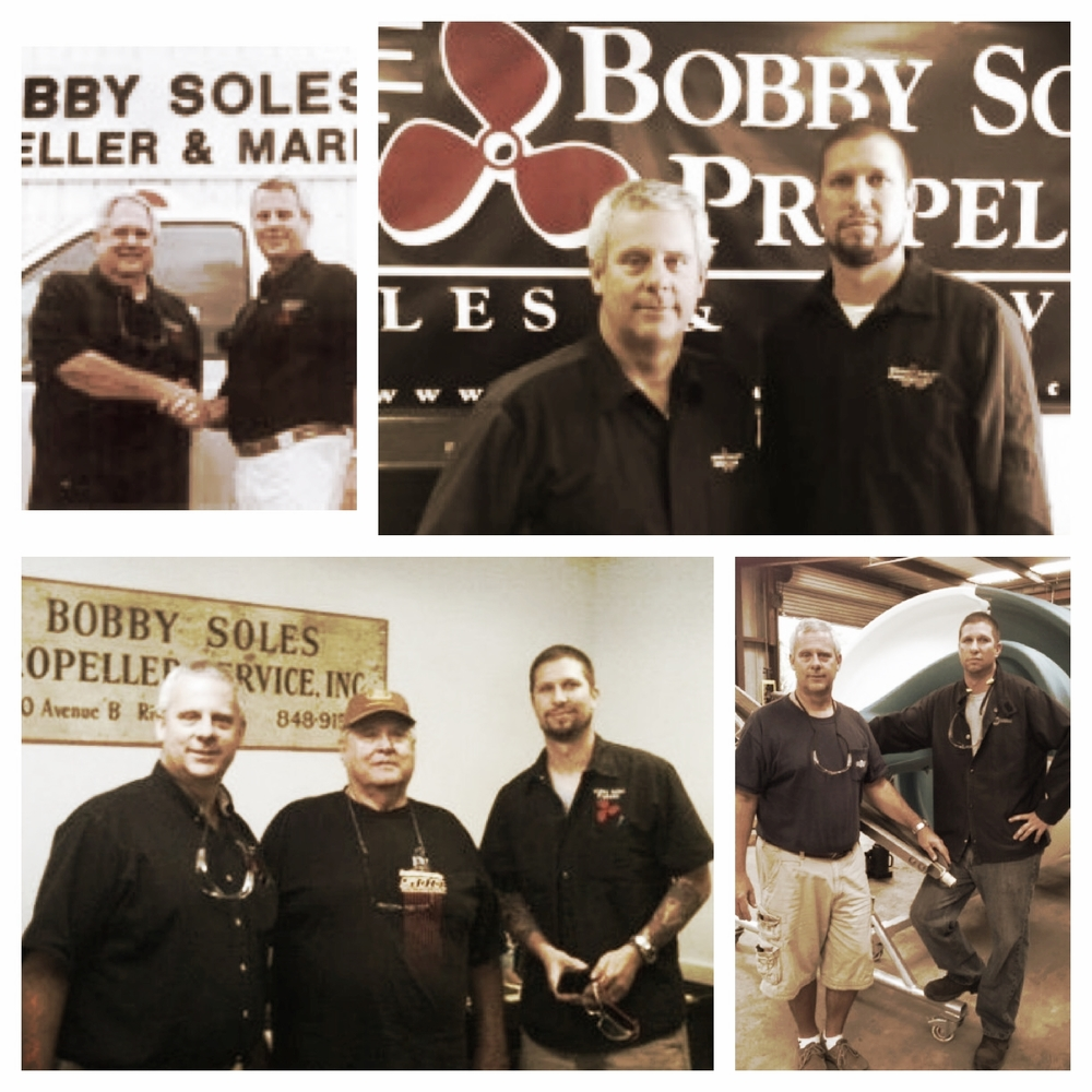 Bobby, Jim, and Rob through the past few years.  Bobby always stops by when he's in town.