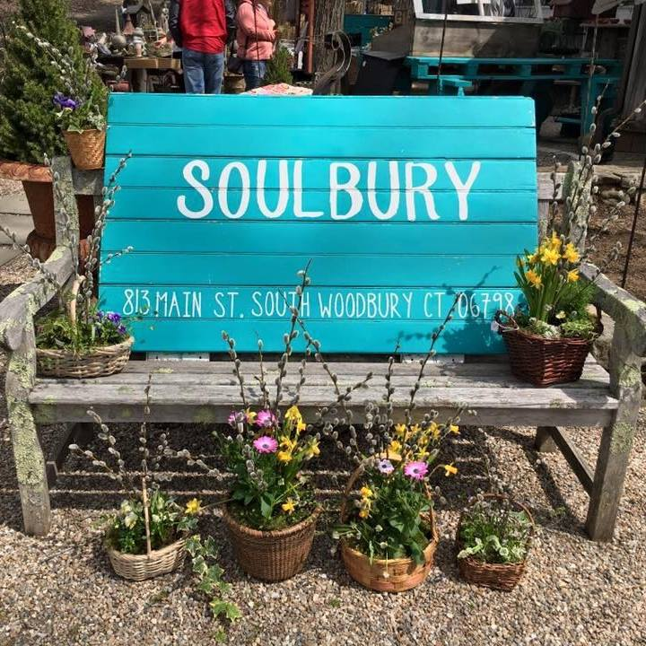 Soulbury  - 813 Main St S Woodbury, Connecticut 06798Click here to visit Soulbury's Facebook page.