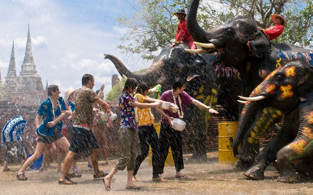 The Songkran Festival in Thailand