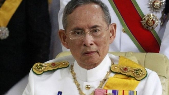 Thailand's King last year