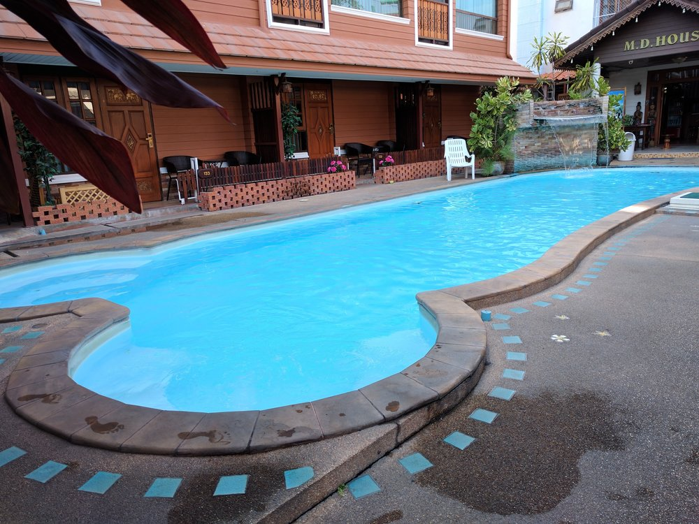 Final award: Best Pool goes to our hotel in Chiang Mai!