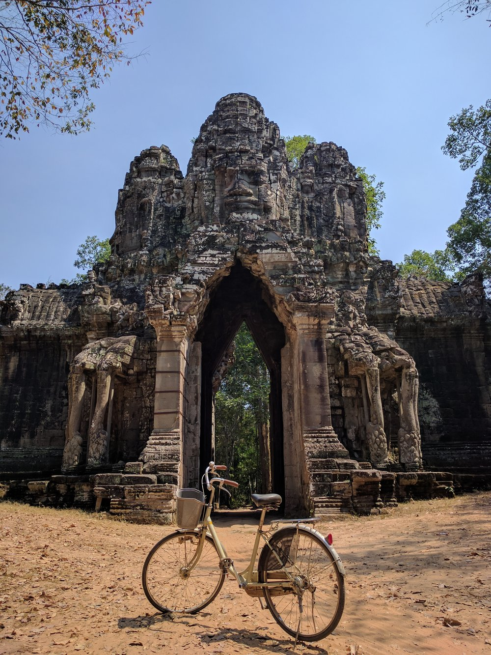 Biking the ancient cities
