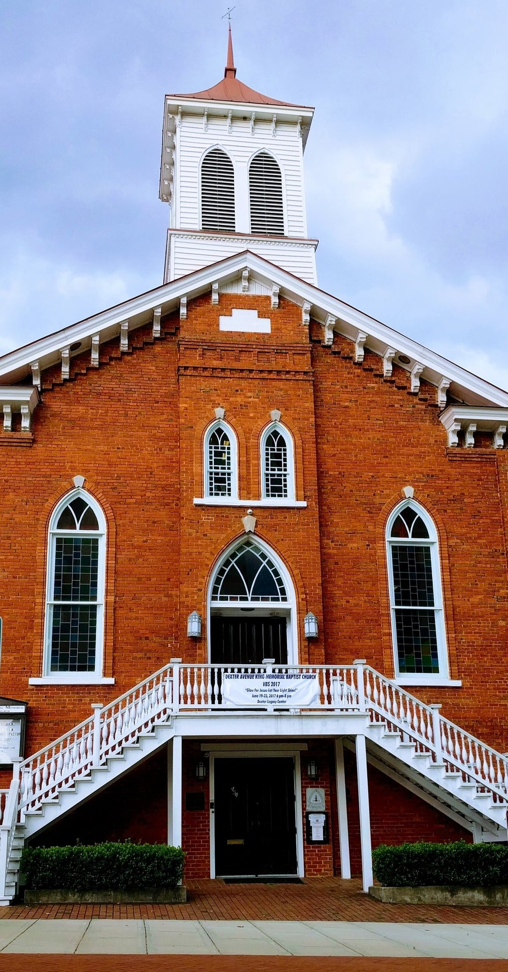 Dexter Avenue Baptist Church- Martin Luther King Jr's church