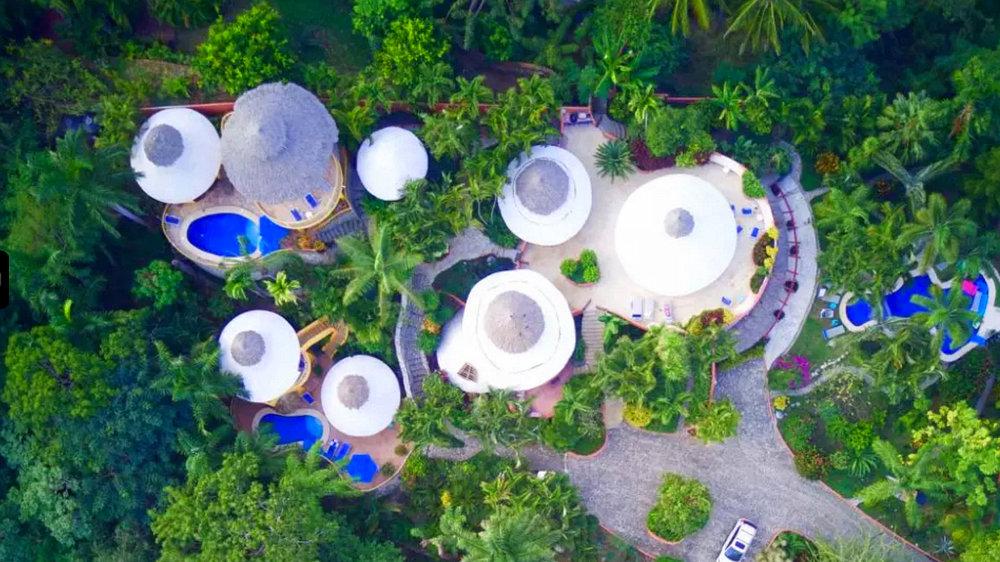 sayulita lodging aerial