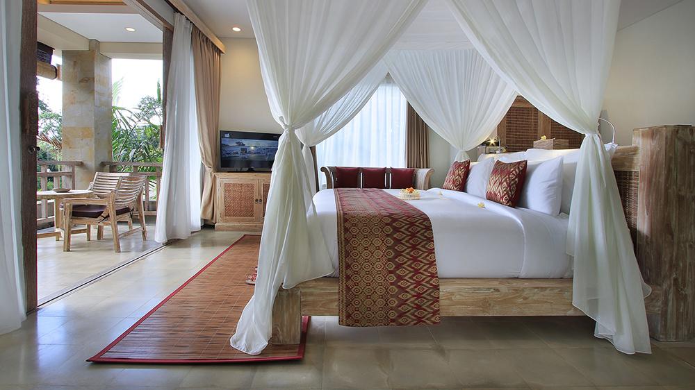 Udaya Resort Bedroom Ubud Bali