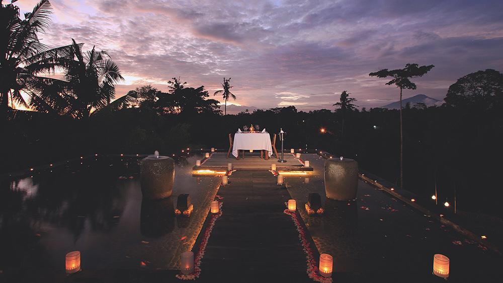 Udaya Resort Pool Ubud Bali