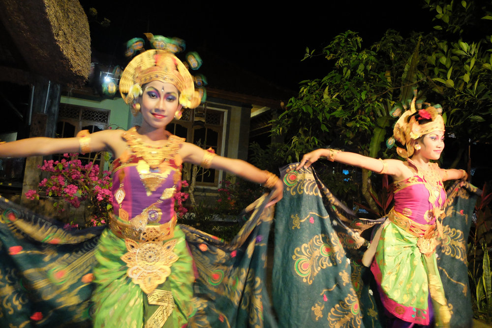 Bali Dancers colorful