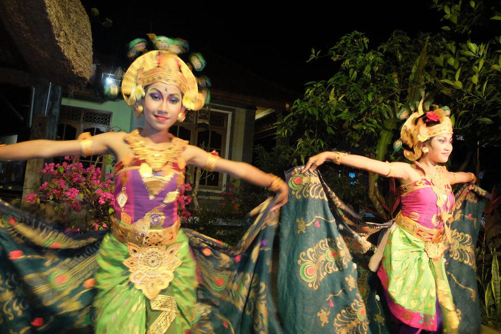 Bali Dancers colorful