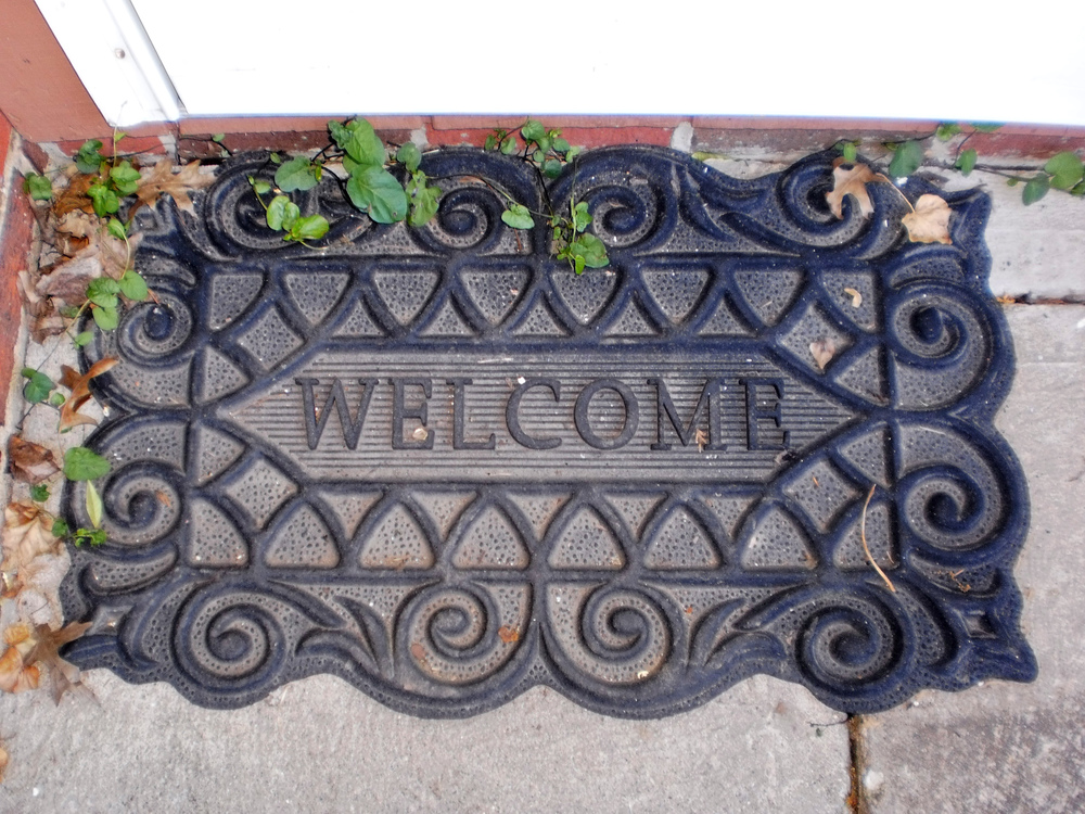 Welcome visitors into your home