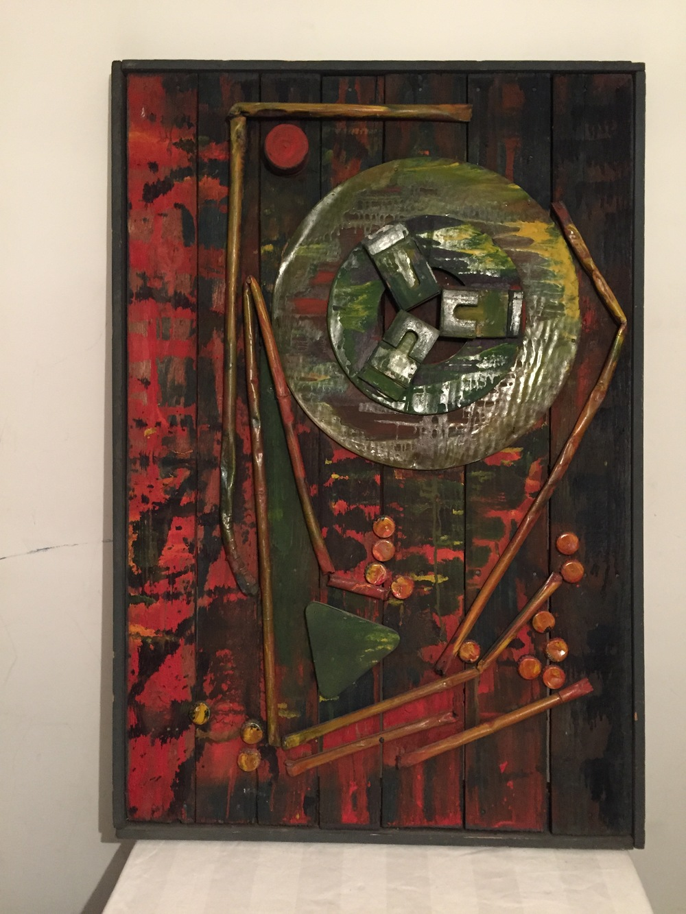 44-Jazeh Tabatabai.70*50cm.Collage.about 1970.JPG