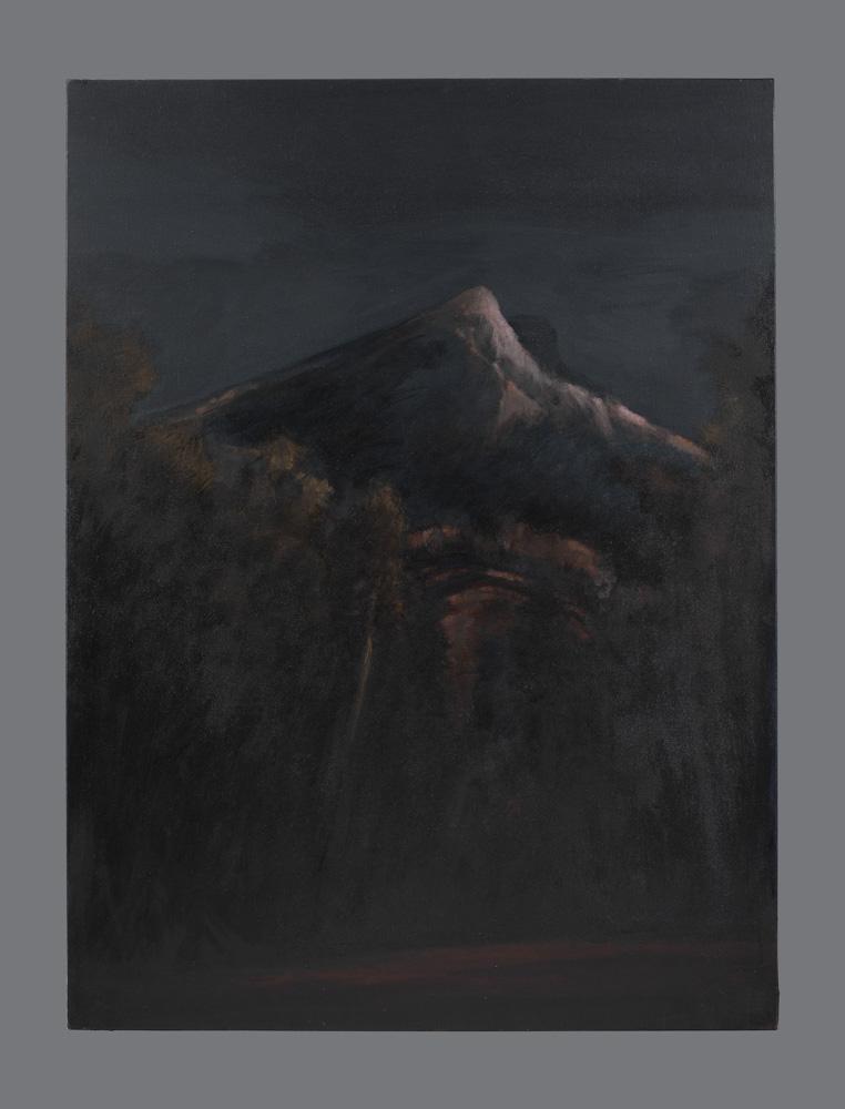 Sainte Victoire. Acrylique sur toile.130x97 cm. 2011