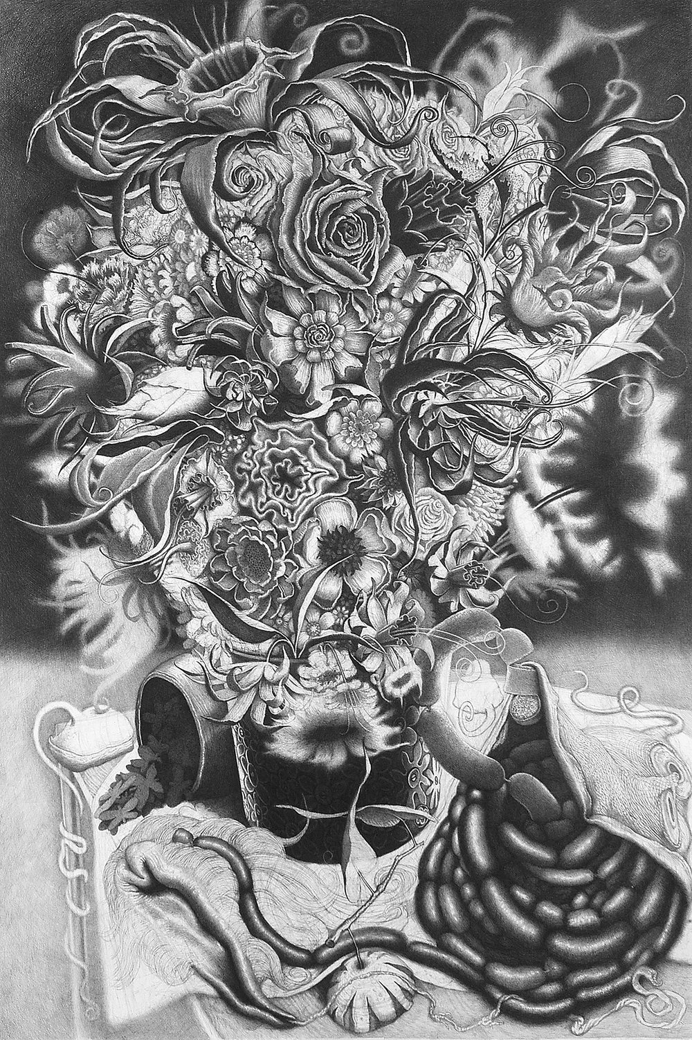 Davor Vrankic  - JE T'AIME BEAUCOUP, 2007-2008, pencil on paper, 120x80cm.jpg