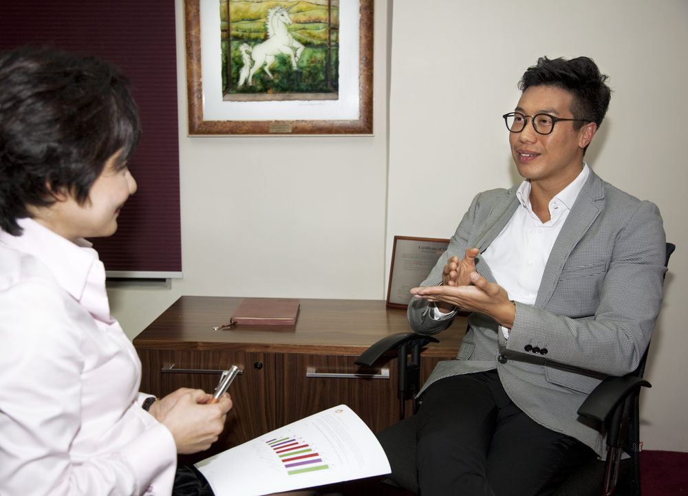 Executive coaching for Mr. Chester Tsung, Brand Director, Nars, Hong Kong.