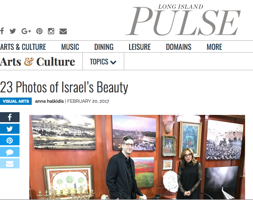 Jonthan Greenstein Feature in LI Pulse