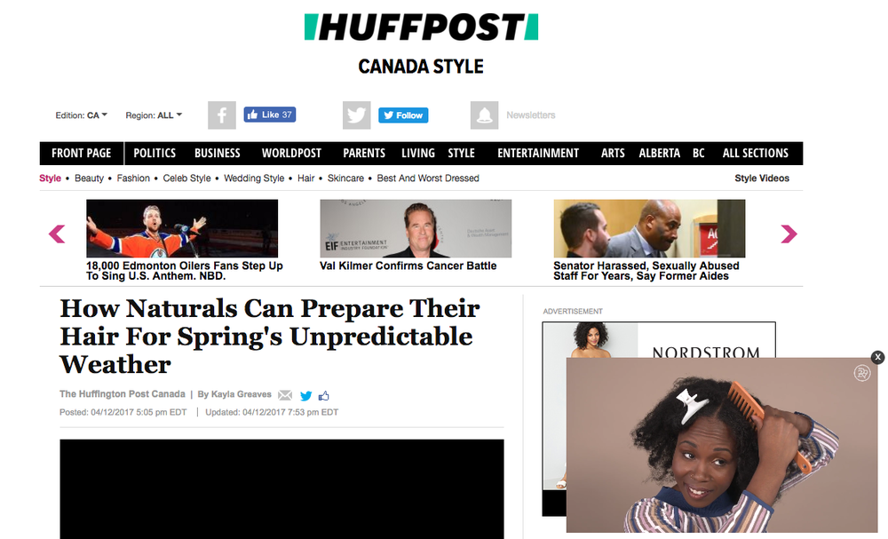 Miko Branch Feature in HuffPost