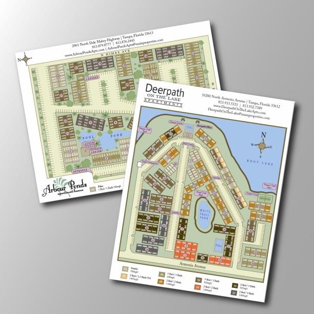 COMMUNITY SITE MAPS PRINT DESIGN