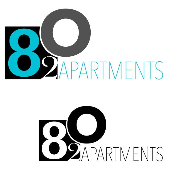 82O Apartments LOGO DESIGN