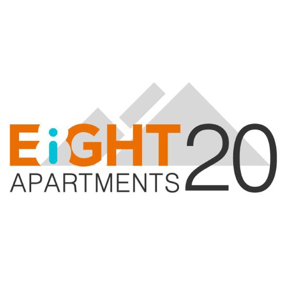 EIGHT20 APARTMENTS REBRAND | IDENTITY | PRINT DESIGN