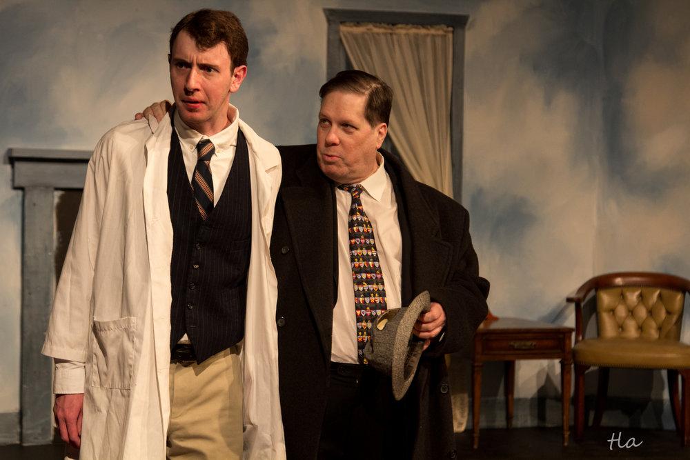 Dr. Sanderson (Mac Westcott) & Dr. Chumley (Edward Kuffert)