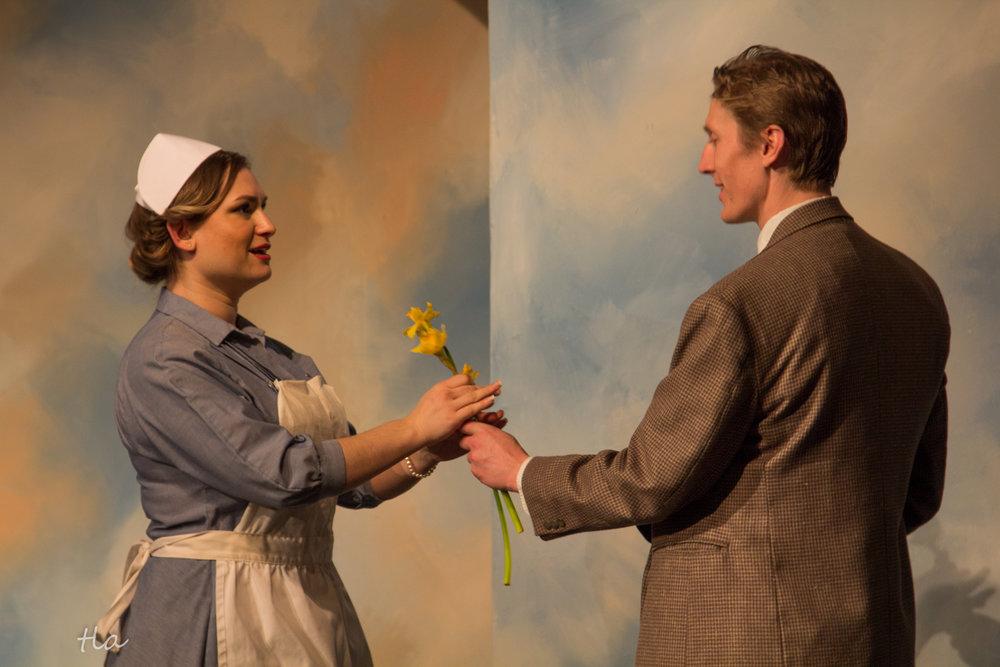 Nurse Kelly (Alisa Goldberg) & Elwood P. Dowd (Richard W. Adams)
