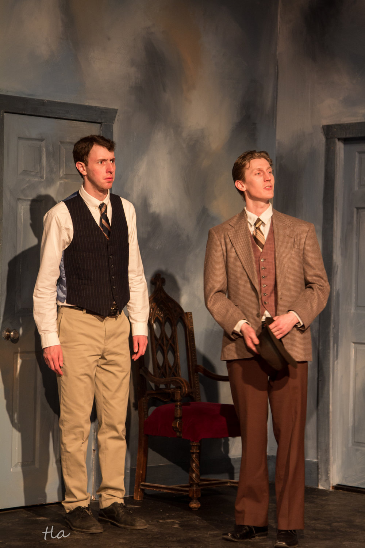 Dr. Sanderson (Mac Westcott) & Elwood P. Dowd (Richard W. Adams)