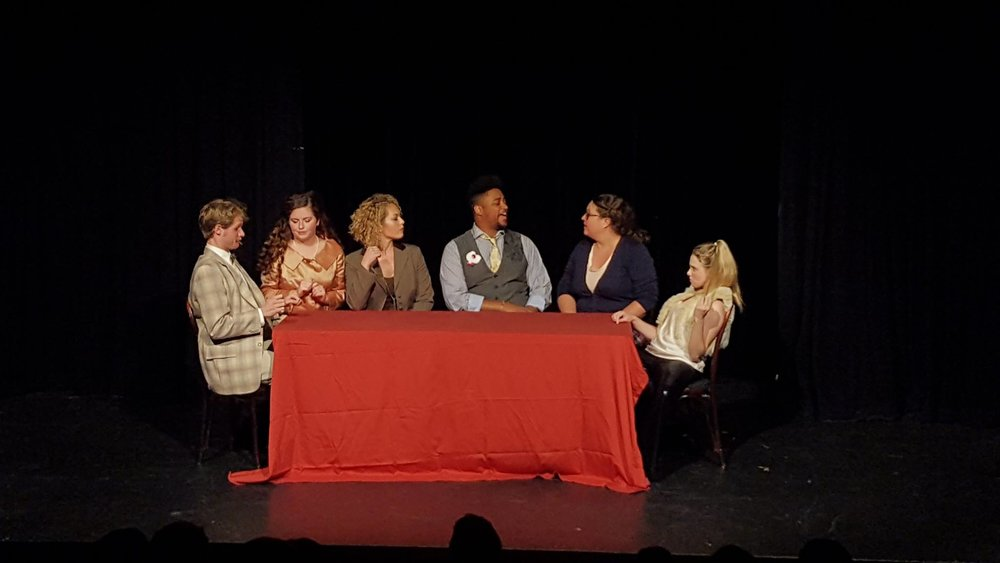 Stop the Insanity: A Low Fat Murder Mystery. Featured: Stephen Bromfield, Alison Limke, Jessica Brill, Devin Middleton, Maggie Dempsey & Kimberly Florian