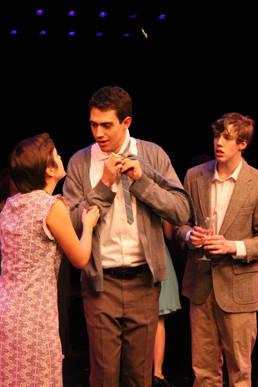 Beth Spencer (Morgan Young), Franklin Shepard (Dan Yawitz) & Charlie Kringas (Eamon Foley)