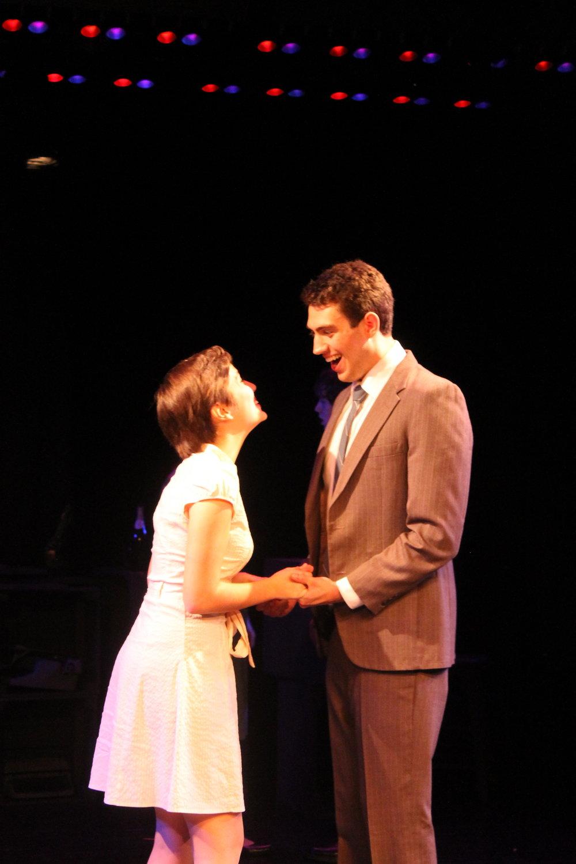 Beth Spencer (Morgan Young) & Franklin Shepard (Dan Yawitz)