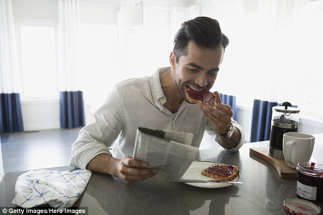 Do you reward yourself with food? It is really important to shift the thinking away from food as a 'treat' or a 'reward', he says