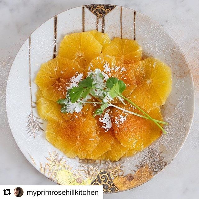 #Repost @myprimrosehillkitchen with @repostapp ・・・ Moroccan orange salad perfumed with cinnamon and orange flower water..takes me straight to Paris where I first had it as a starter..recipe is in the link above in the salad section..takes minutes to make..🍊 * * * * * #orange #oranges #morroco #salad #dairyfree #glutenfree #glutenfreevegan #vegetarian #veganfoodporn #vegan #vegano #veganeats #veganfood #vegansofig #delicious #beautiful #taste #fragrant #nom #plantbased #healthyfood #healthyeating #lowfat #foodblog #foodblogger #food